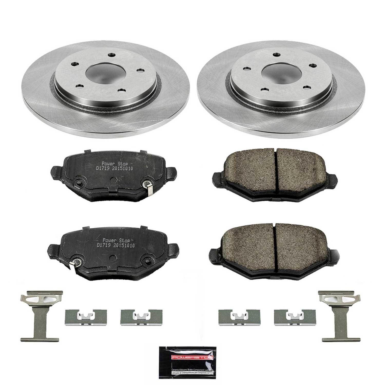 POWER STOP - Stock Replacement Brake Kit - PWS KOE6544