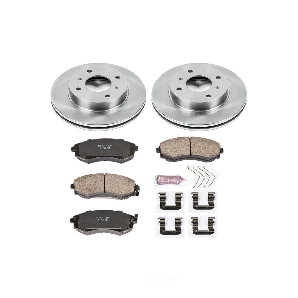 POWER STOP - Stock Replacement Brake Kit - PWS KOE656