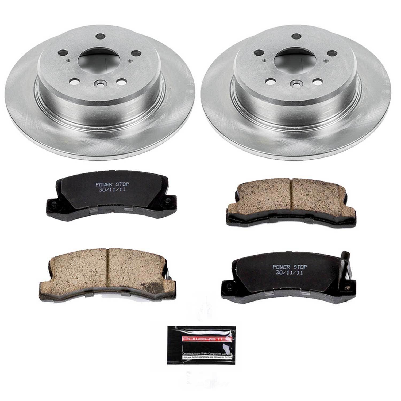 POWER STOP - Stock Replacement Brake Kit - PWS KOE6784