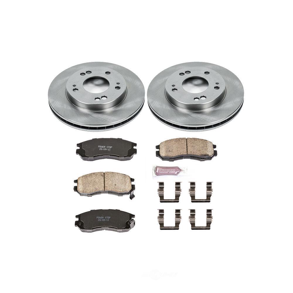 POWER STOP - Stock Replacement Brake Kit - PWS KOE681