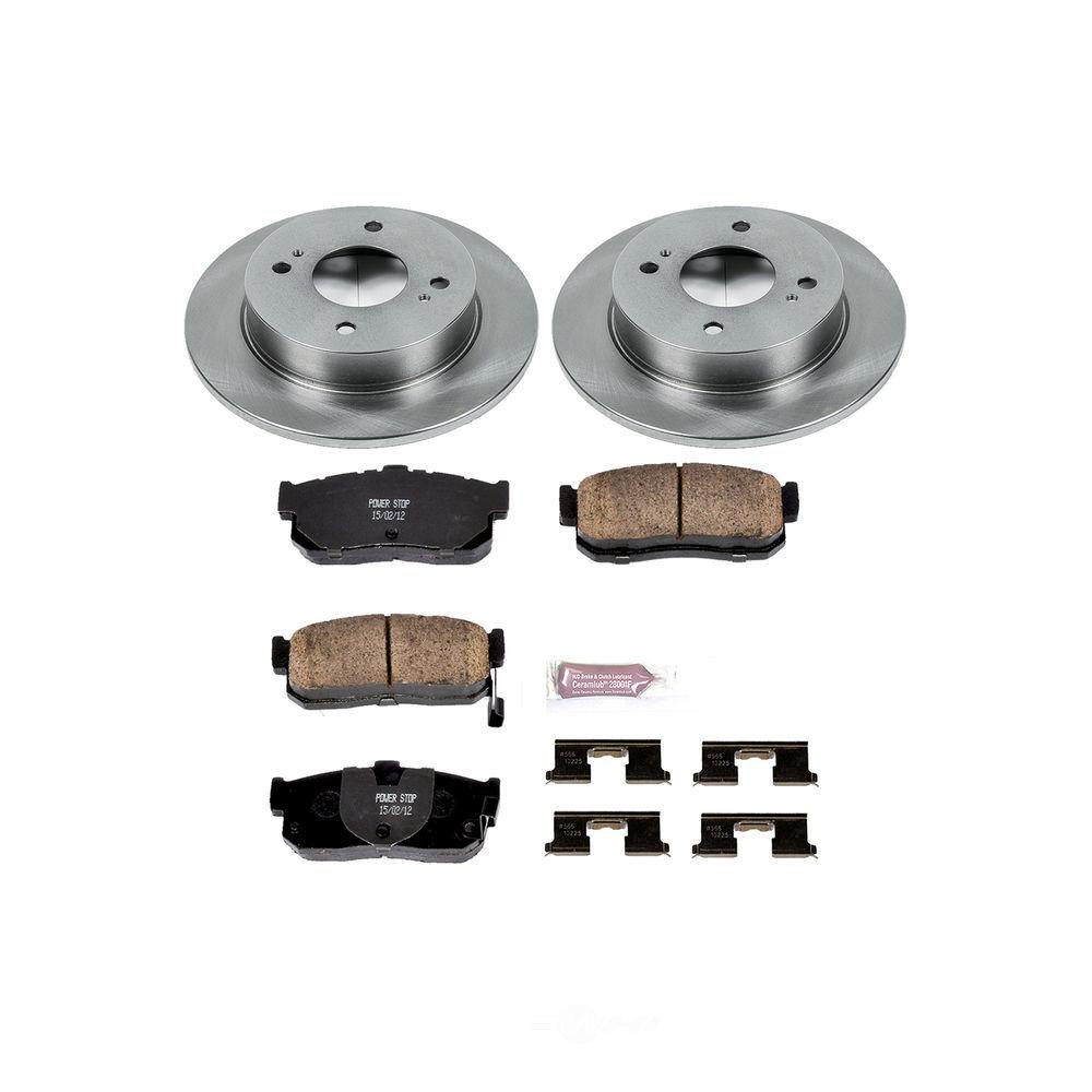 POWER STOP - Stock Replacement Brake Kit - PWS KOE740