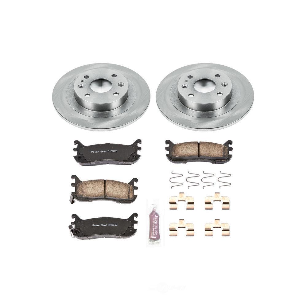 POWER STOP - Stock Replacement Brake Kit - PWS KOE772