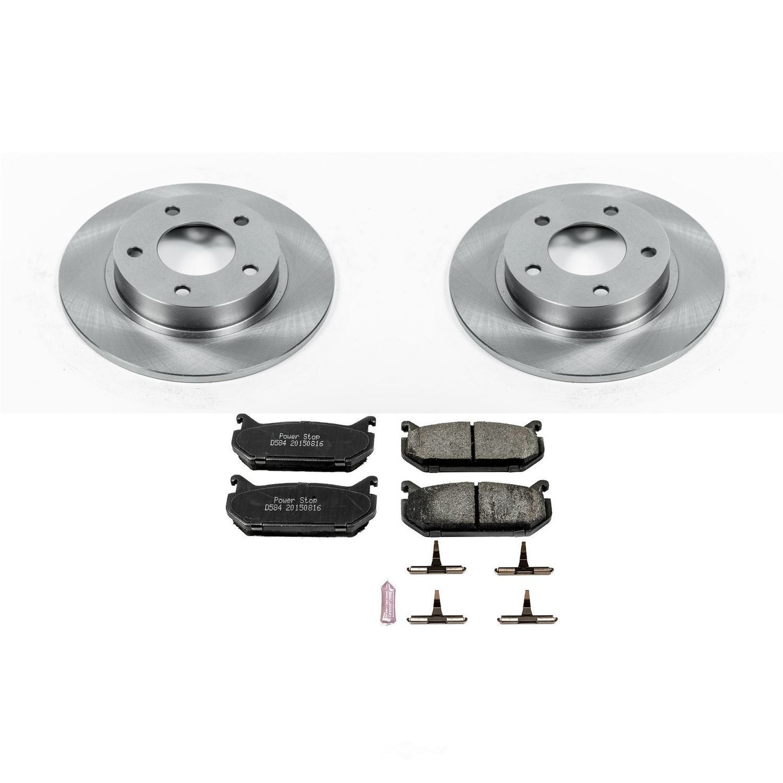 POWER STOP - Stock Replacement Brake Kit - PWS KOE790