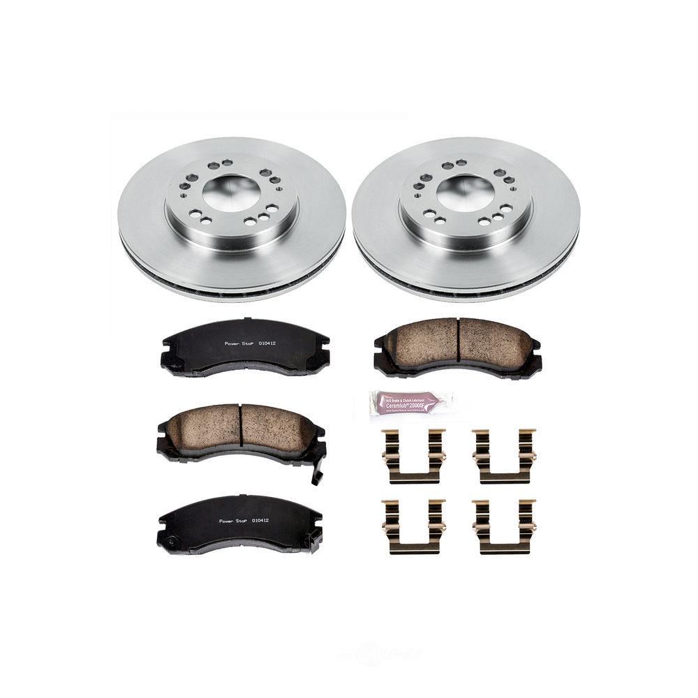 POWER STOP - Stock Replacement Brake Kit - PWS KOE798
