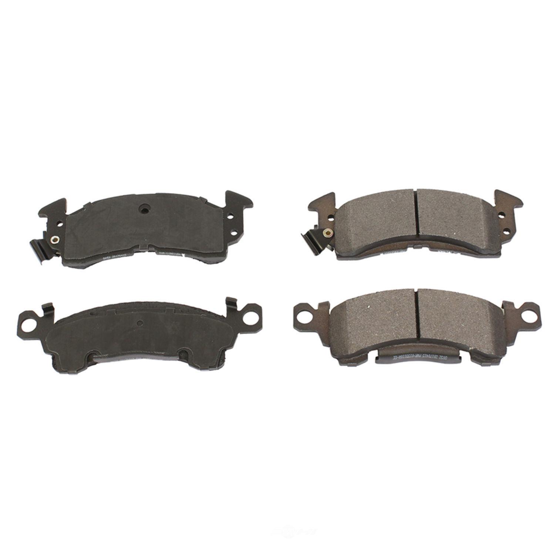 POWER STOP - Posi-Mold Carbon Matrix Metallic Disc Brake Pad - PWS PM18-052