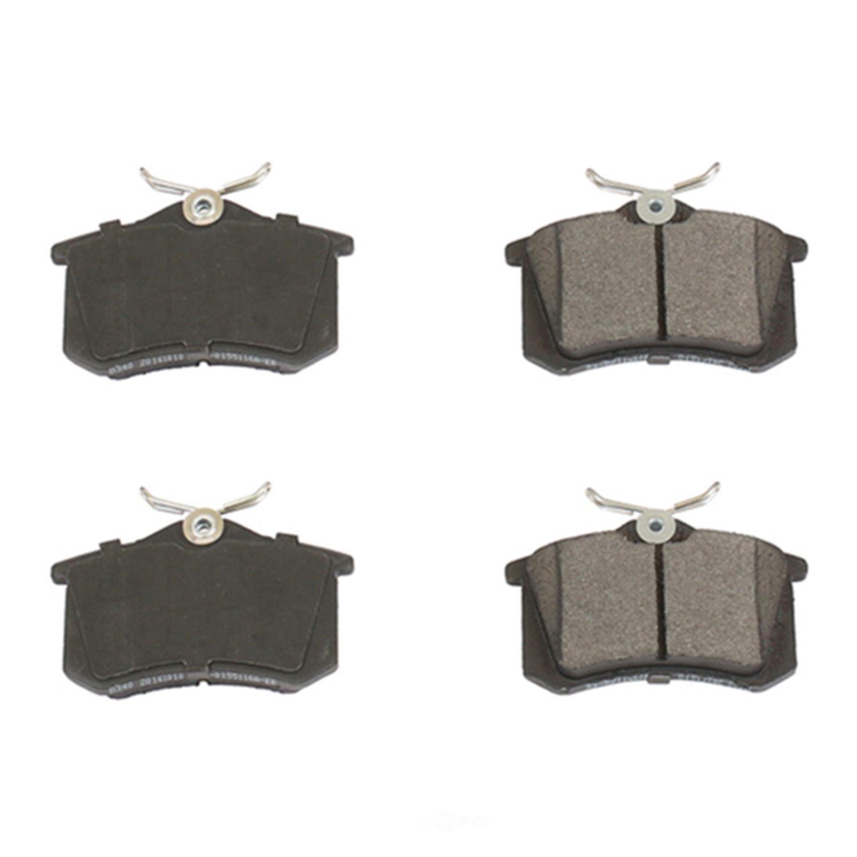 POWER STOP - Posi-Mold Carbon Matrix Metallic Disc Brake Pad (Rear) - PWS PM18-340
