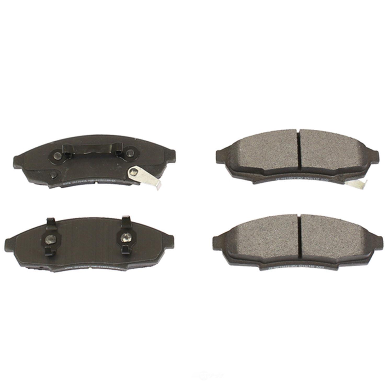 POWER STOP - Posi-Mold Carbon Matrix Metallic Disc Brake Pad - PWS PM18-376