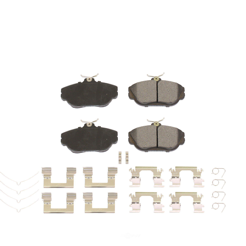 POWER STOP - Posi-Mold Carbon Matrix Metallic Disc Brake Pad - PWS PM18-601