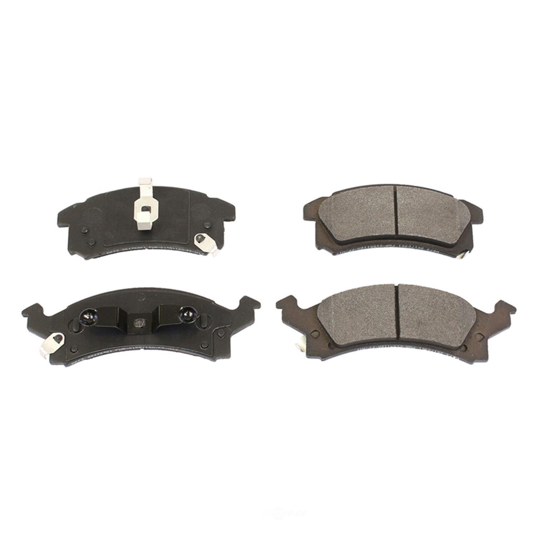 POWER STOP - Posi-Mold Carbon Matrix Metallic Disc Brake Pad (Front) - PWS PM18-673