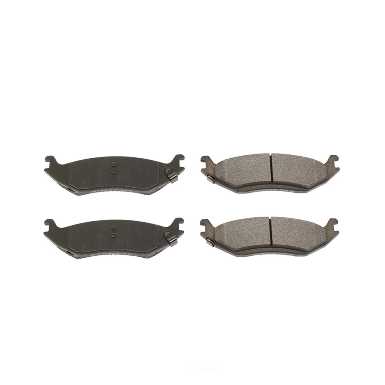 POWER STOP - Posi-Mold Carbon Matrix Metallic Disc Brake Pad - PWS PM18-898