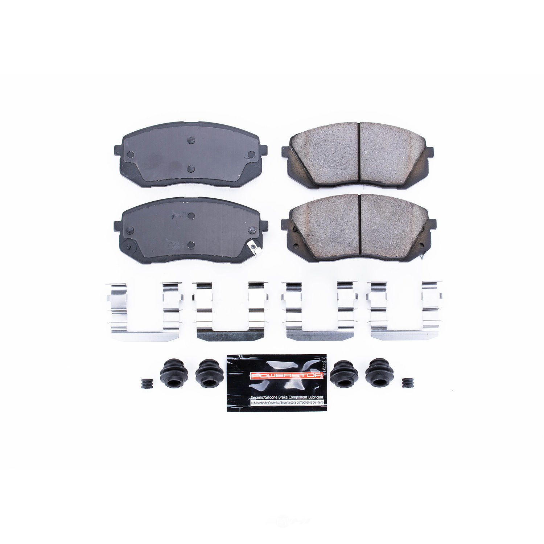 POWER STOP - Z23 Evolution Sport Carbon Fiber/Ceramic Brake Pads (Front) - PWS Z23-1295