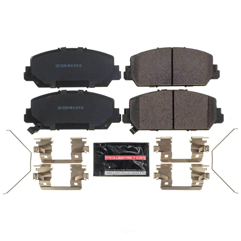 POWER STOP - Z23 Evolution Sport Carbon Fiber/Ceramic Brake Pads (Front) - PWS Z23-1697
