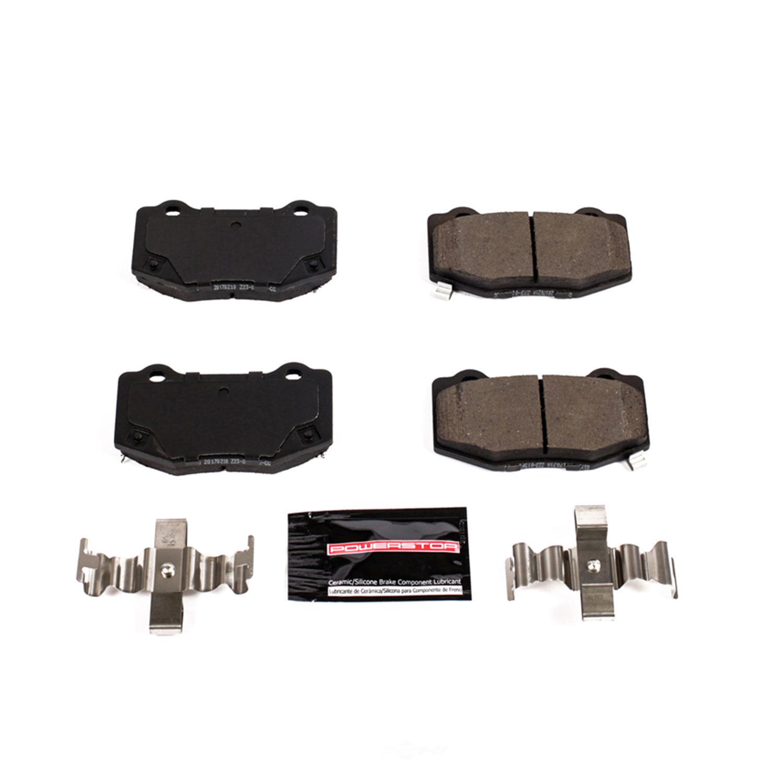 POWER STOP - Z23 Evolution Sport Carbon Fiber/Ceramic Brake Pads (Rear) - PWS Z23-1718