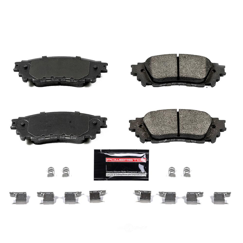 POWER STOP - Z23 Evolution Sport Carbon Fiber/Ceramic Brake Pads (Rear) - PWS Z23-1805