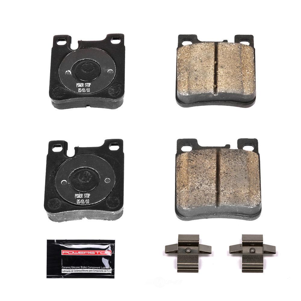 POWER STOP - Z23 Evolution Sport Carbon Fiber/Ceramic Brake Pads w/Hardware Kit (Rear) - PWS Z23-603