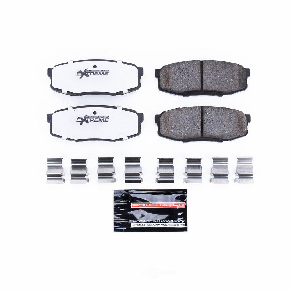 POWER STOP - Truck and Tow Severe Duty Disc Brake Pad (Rear) - PWS Z36-1304