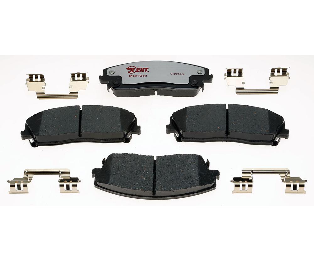 RAYBESTOS - Enhanced Hybrid Technology Disc Brake Pad (Front) - RAY EHT1056H