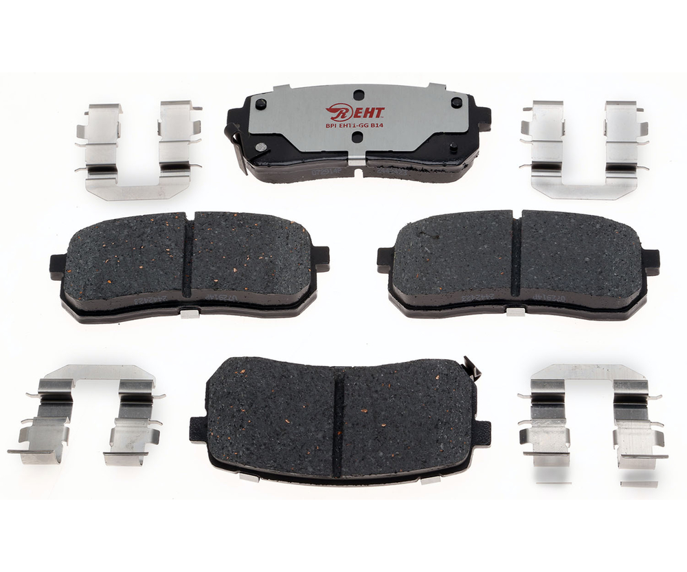 RAYBESTOS - Element3; Hybrid Technology Brake Pad Set (Rear) - RAY EHT1302H