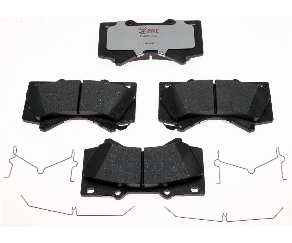 RAYBESTOS - Element3; Hybrid Technology Brake Pad Set (Front) - RAY EHT1303H