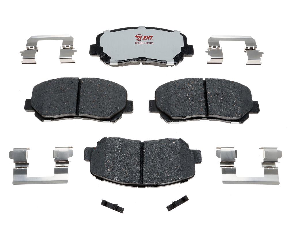 RAYBESTOS - Enhanced Hybrid Technology Disc Brake Pad (Front) - RAY EHT1623AH