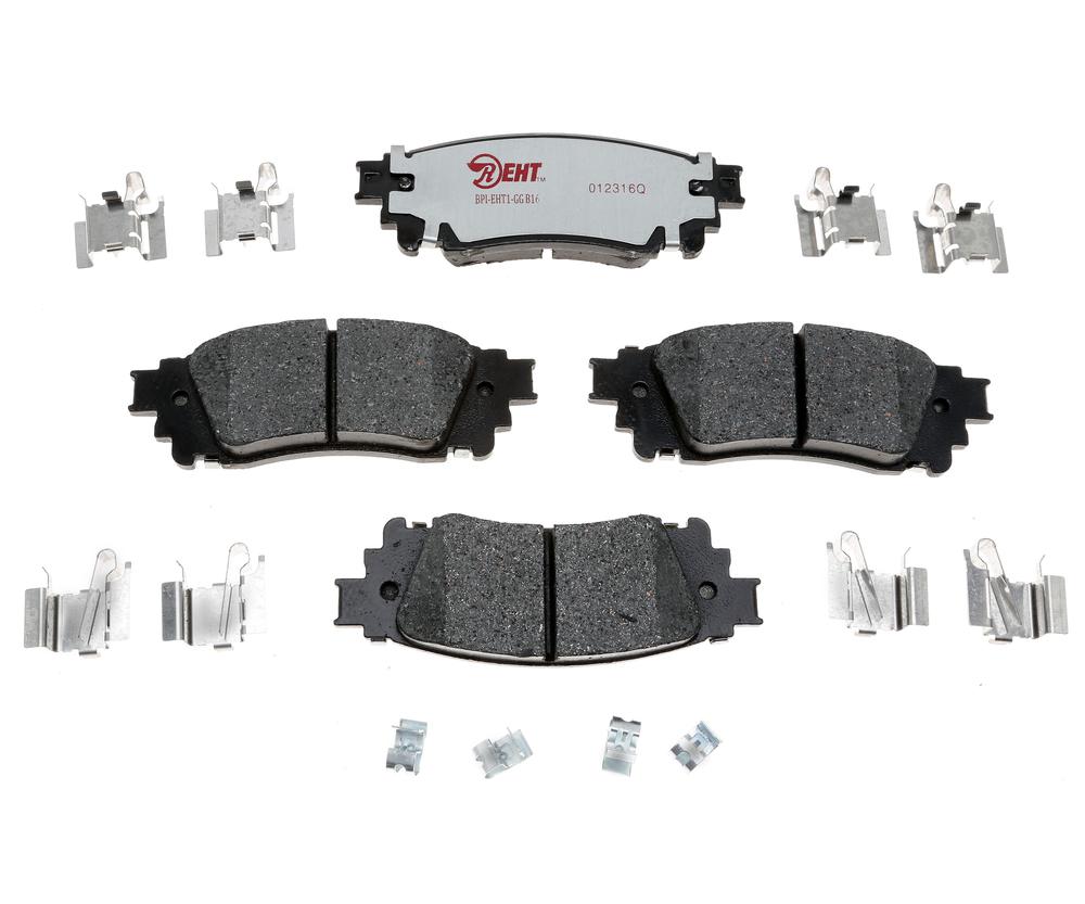 RAYBESTOS - Enhanced Hybrid Technology Disc Brake Pad (Rear) - RAY EHT1805H