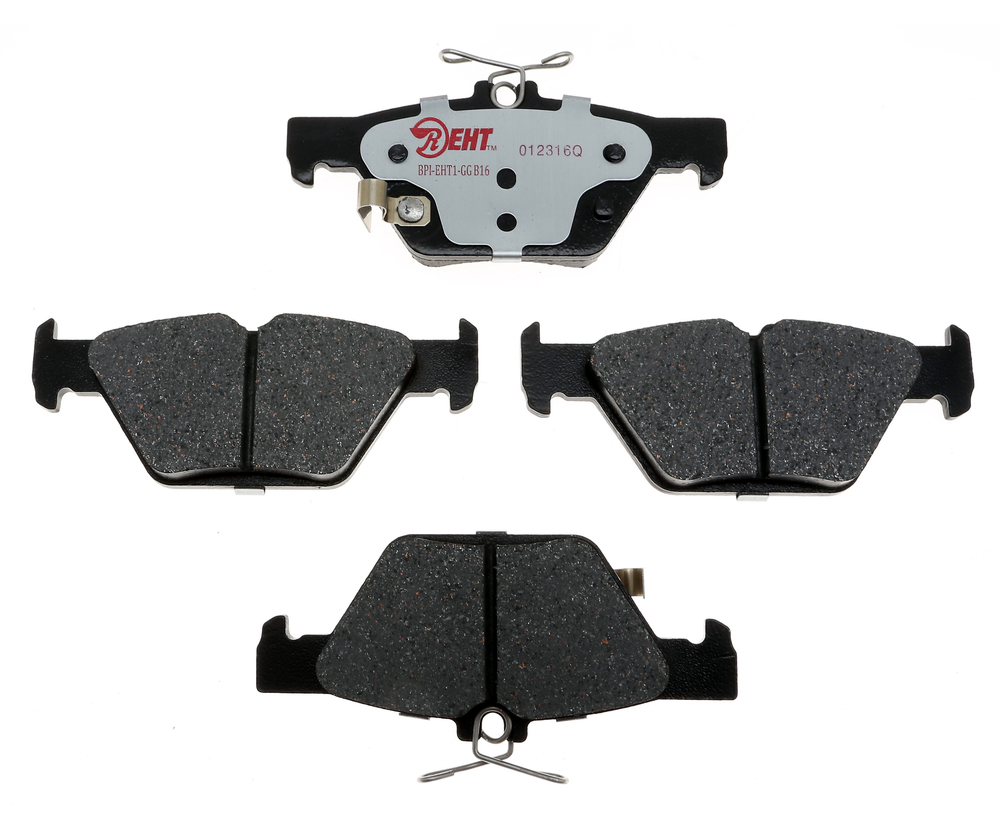 RAYBESTOS - Enhanced Hybrid Technology Disc Brake Pad (Rear) - RAY EHT1808