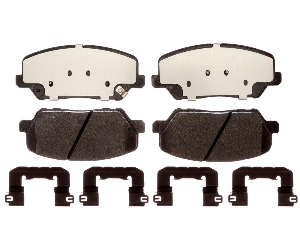 RAYBESTOS - Element3; Hybrid Technology Brake Pad Set - RAY EHT1827H