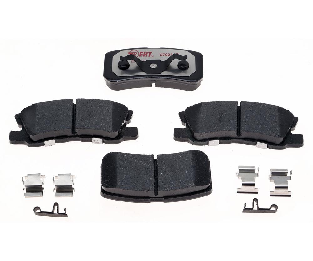 RAYBESTOS - Element3; Hybrid Technology Brake Pad Set (Rear) - RAY EHT868H