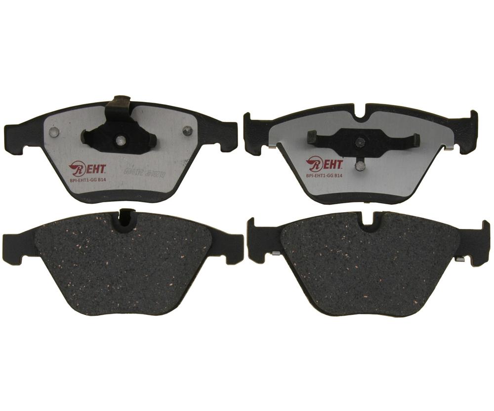 RAYBESTOS - Element3; Hybrid Technology Brake Pad Set (Front) - RAY EHT918