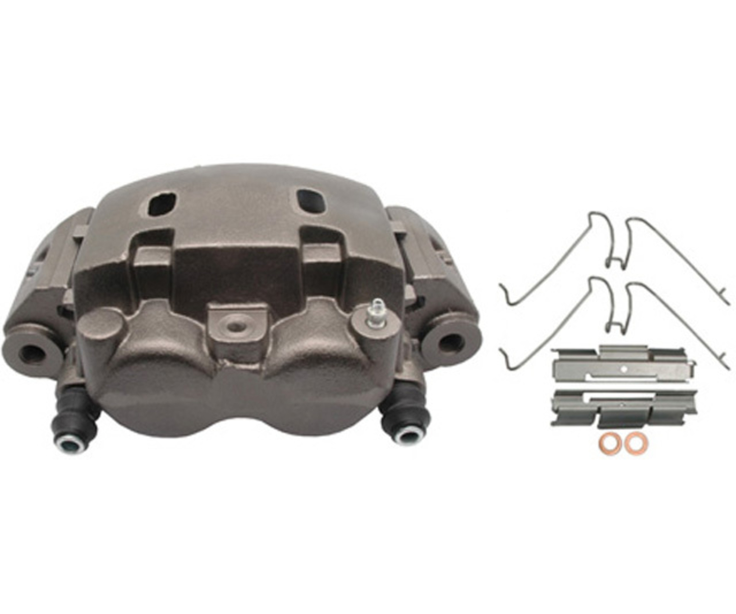 RAYBESTOS - R-Line; Friction-Ready Caliper, Remanufactured; Includes Bracket (Front Left) - RAY FRC11592