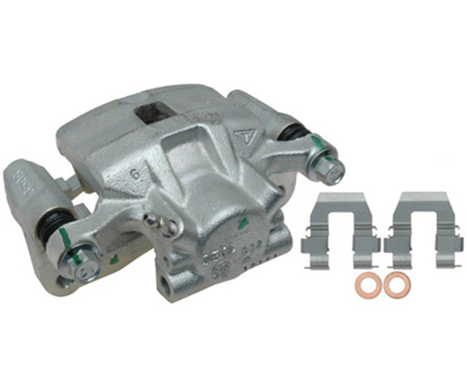 RAYBESTOS - R-Line; Friction-Ready Caliper, Remanufactured; Includes Bracket (Rear Right) - RAY FRC12153