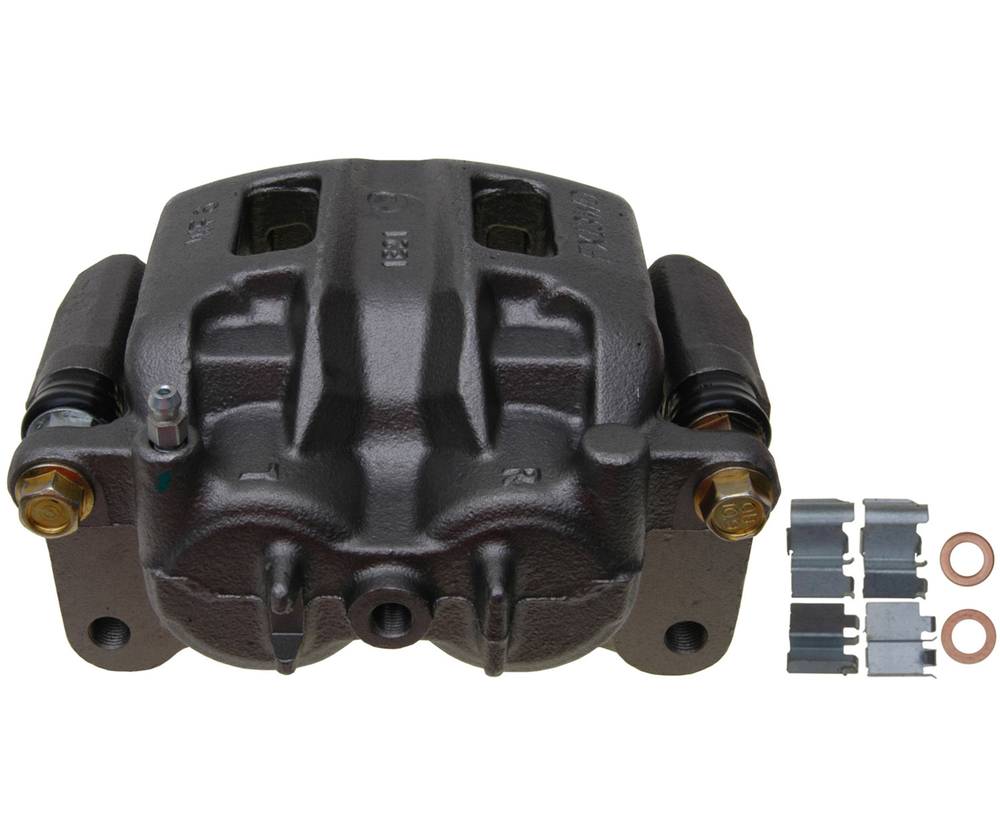 RAYBESTOS - R-Line; Friction-Ready Caliper, Remanufactured; Includes Bracket (Front Left) - RAY FRC12307