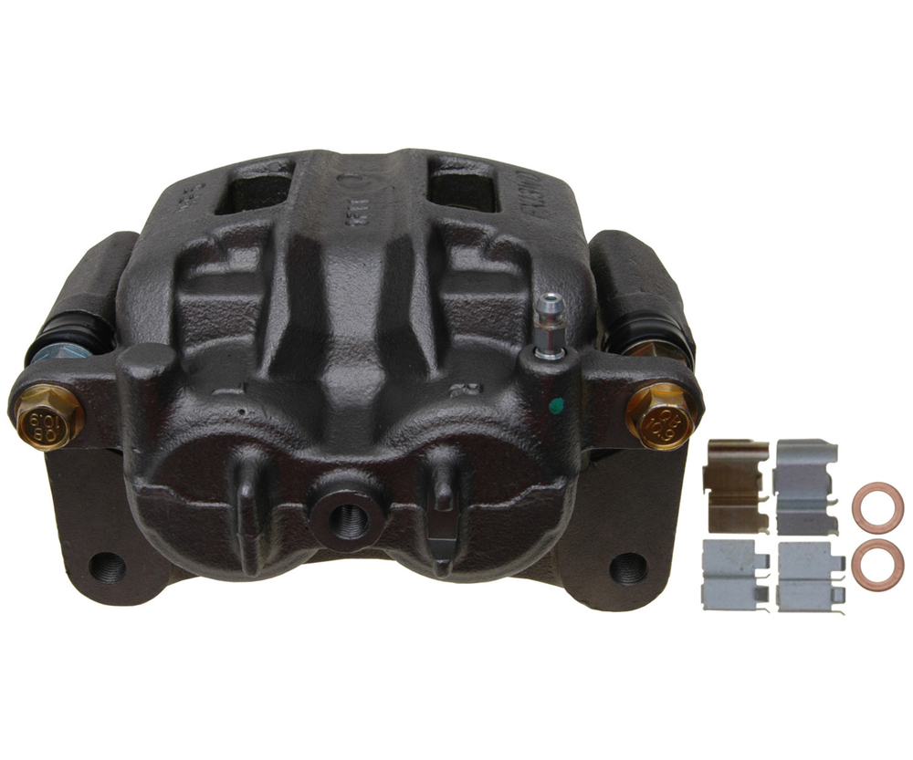 RAYBESTOS - R-Line; Friction-Ready Caliper, Remanufactured; Includes Bracket (Front Right) - RAY FRC12308