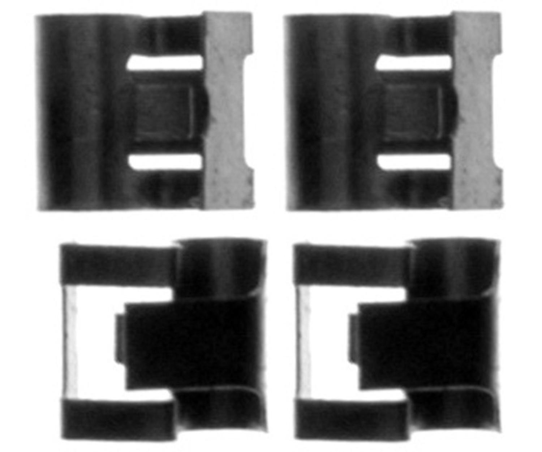 RAYBESTOS - R-Line Disc Brake Anti-Rattle Clip - RAY H5431K