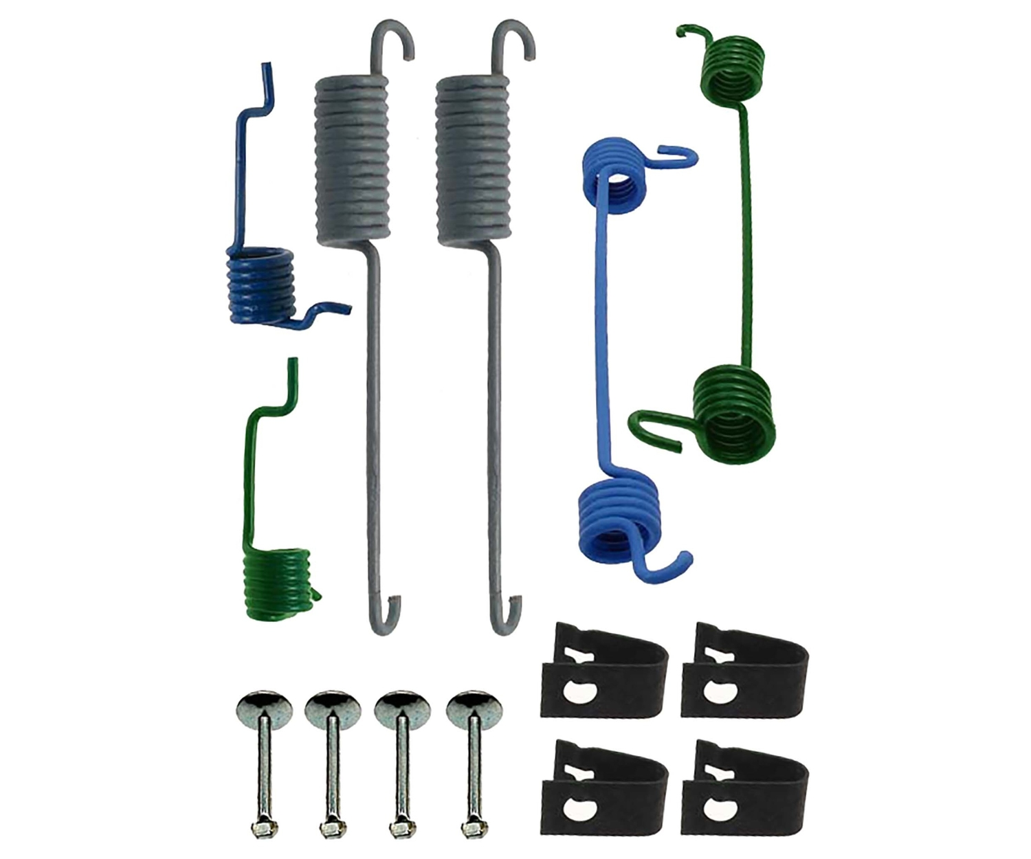 RAYBESTOS - PG Plus Drum Brake Hardware Kit (Rear) - RAY H7307