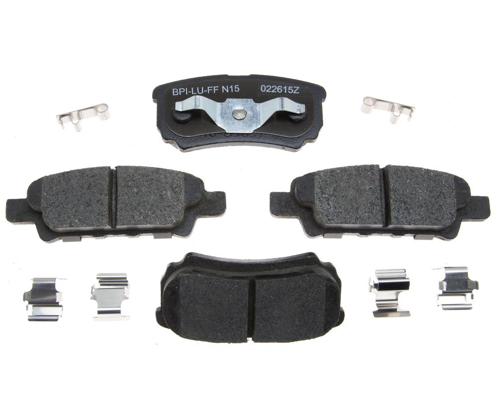 RAYBESTOS - R-Line; Ceramic Disc Brake Pad Set (Rear) - RAY MGD1037CH