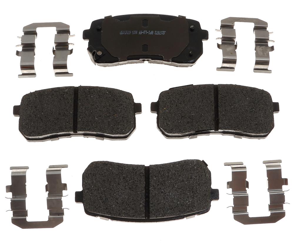 RAYBESTOS - R-Line; Ceramic Disc Brake Pad Set (Rear) - RAY MGD1302CH