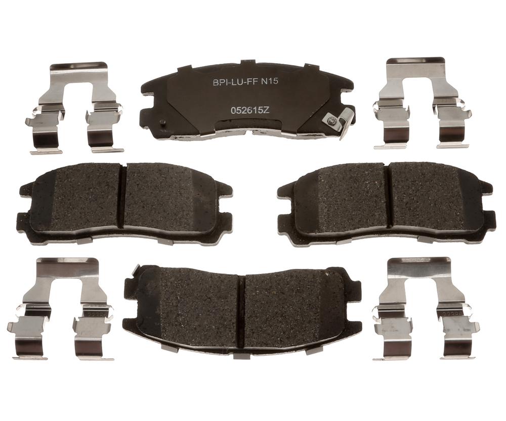 RAYBESTOS - R-Line; Ceramic Disc Brake Pad Set (Rear) - RAY MGD383CH
