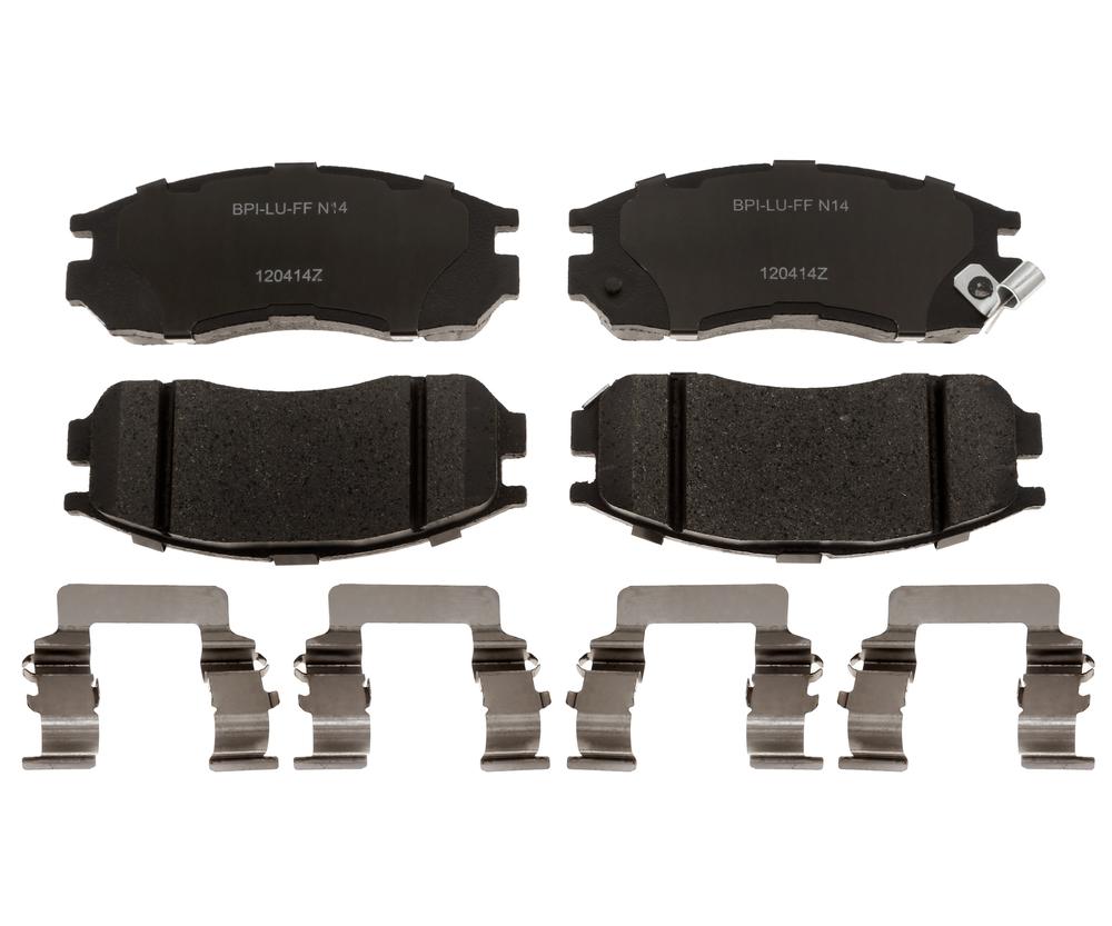 RAYBESTOS - R-Line; Ceramic Disc Brake Pad Set (Front) - RAY MGD484CH