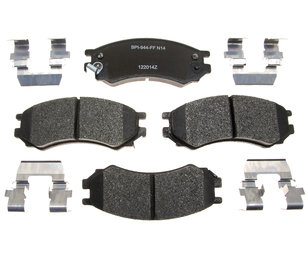 RAYBESTOS - Reliant Metallic Disc Brake Pad (Front) - RAY MGD507MH