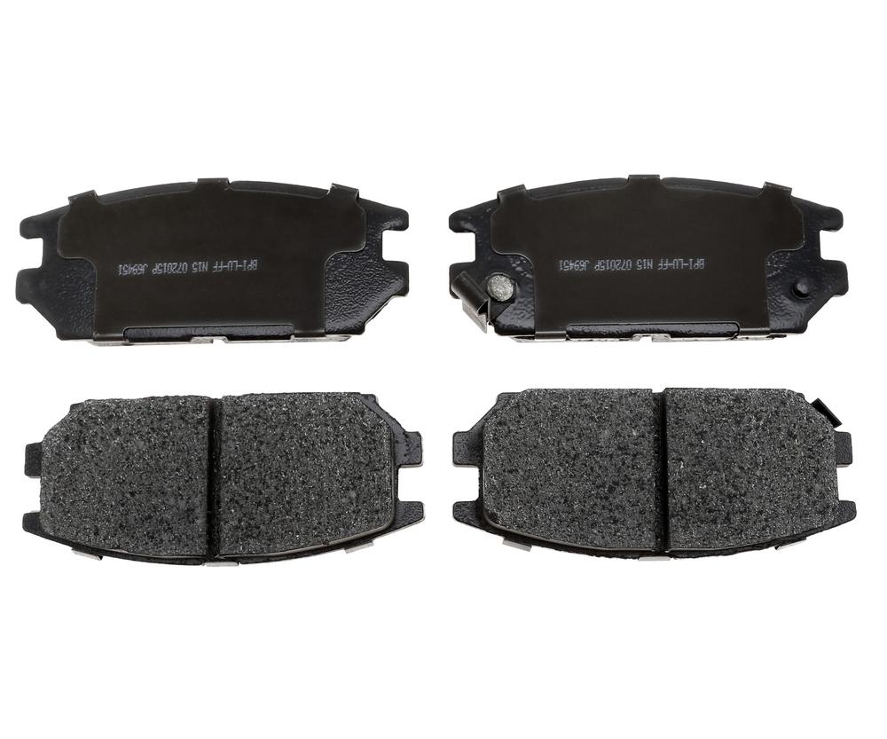 RAYBESTOS - R-Line; Ceramic Disc Brake Pad Set (Rear) - RAY MGD532C
