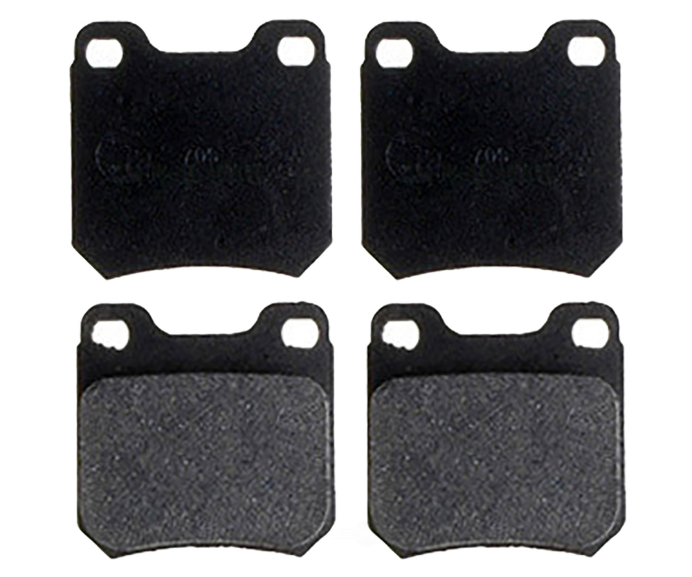 RAYBESTOS - R-Line; Metallic Disc Brake Pad Set (Rear) - RAY MGD709M