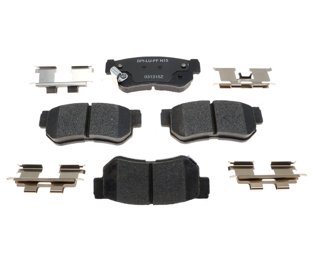 RAYBESTOS - R-Line; Ceramic Disc Brake Pad Set (Rear) - RAY MGD813CH