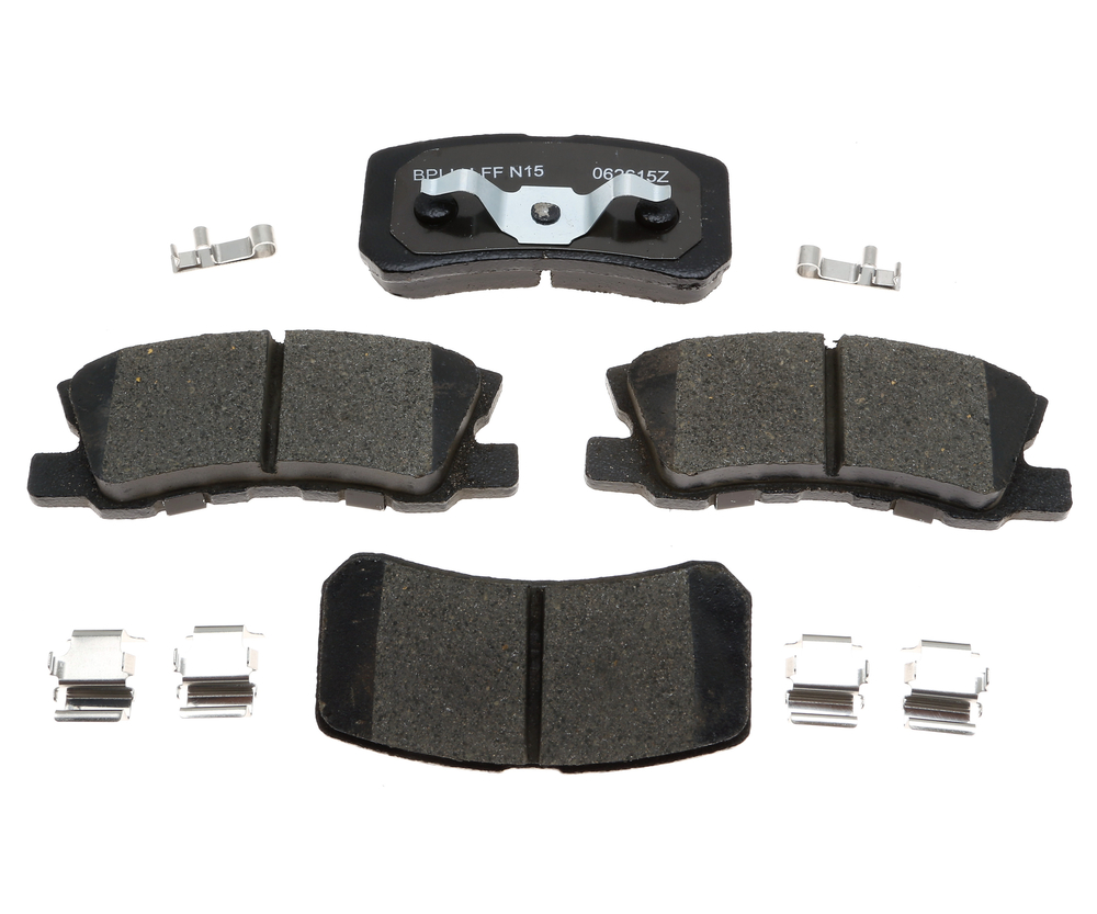 RAYBESTOS - R-Line; Ceramic Disc Brake Pad Set (Rear) - RAY MGD868CH