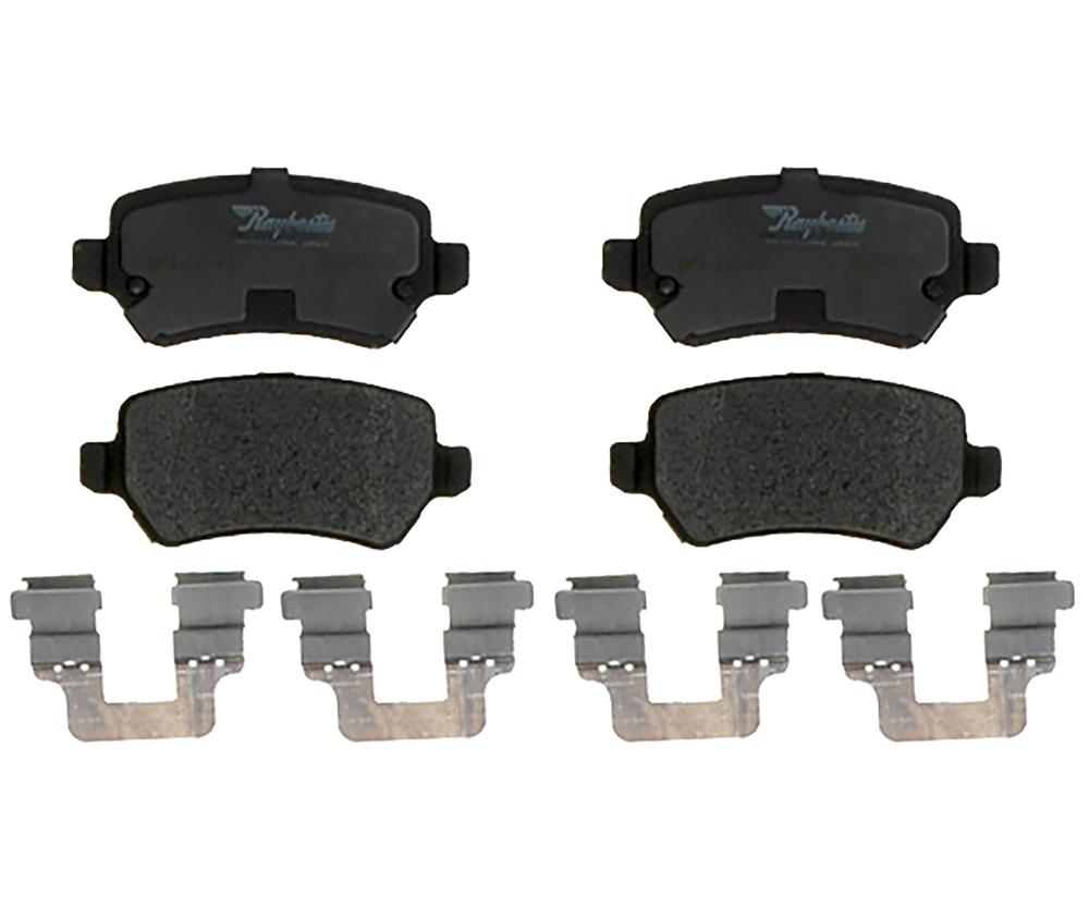RAYBESTOS - PG Plus Metallic Disc Brake Pad (Rear) - RAY PGD1362M