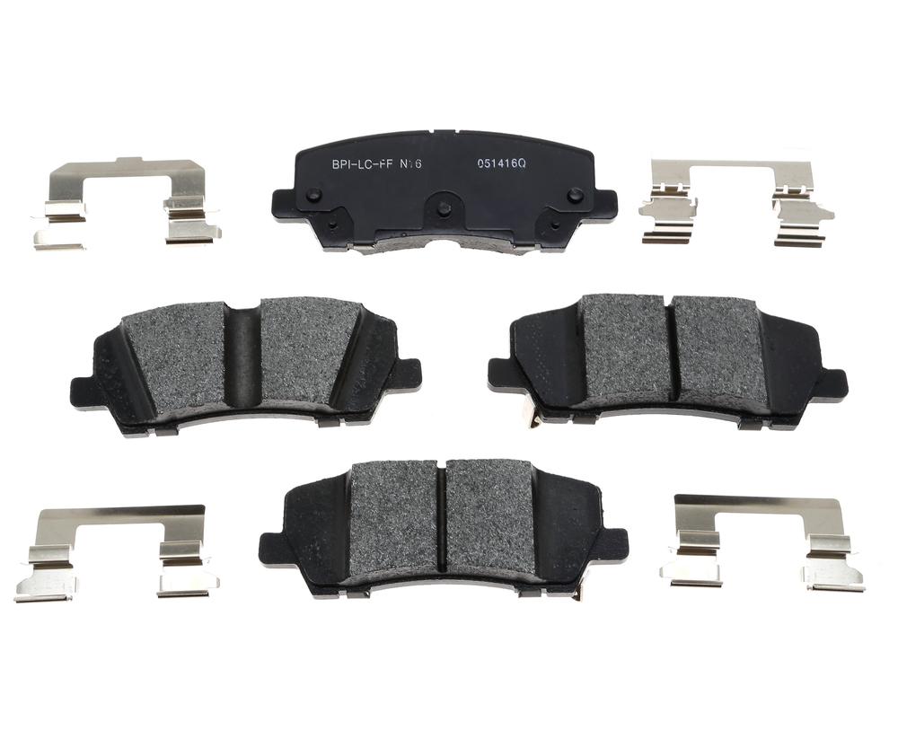 RAYBESTOS - PG Plus Metallic Disc Brake Pad (Rear) - RAY PGD1810M