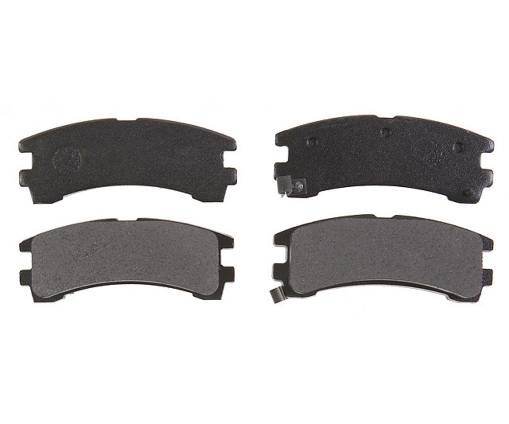 RAYBESTOS - PG Plus Metallic Disc Brake Pad (Rear) - RAY PGD401M