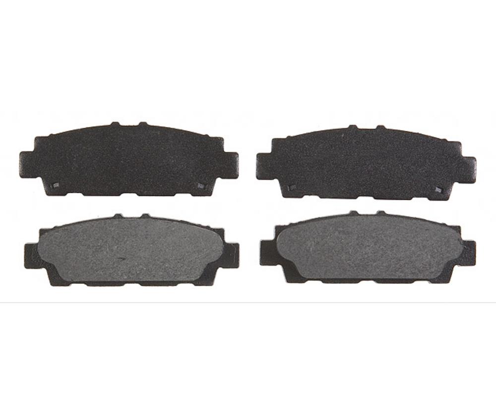 RAYBESTOS - Element3; Organic Disc Brake Pad Set (Rear) - RAY PGD488