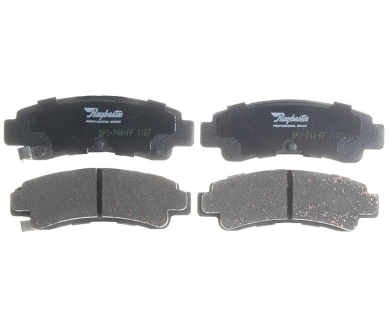 RAYBESTOS - PG Plus Ceramic Disc Brake Pad (Rear) - RAY PGD511C