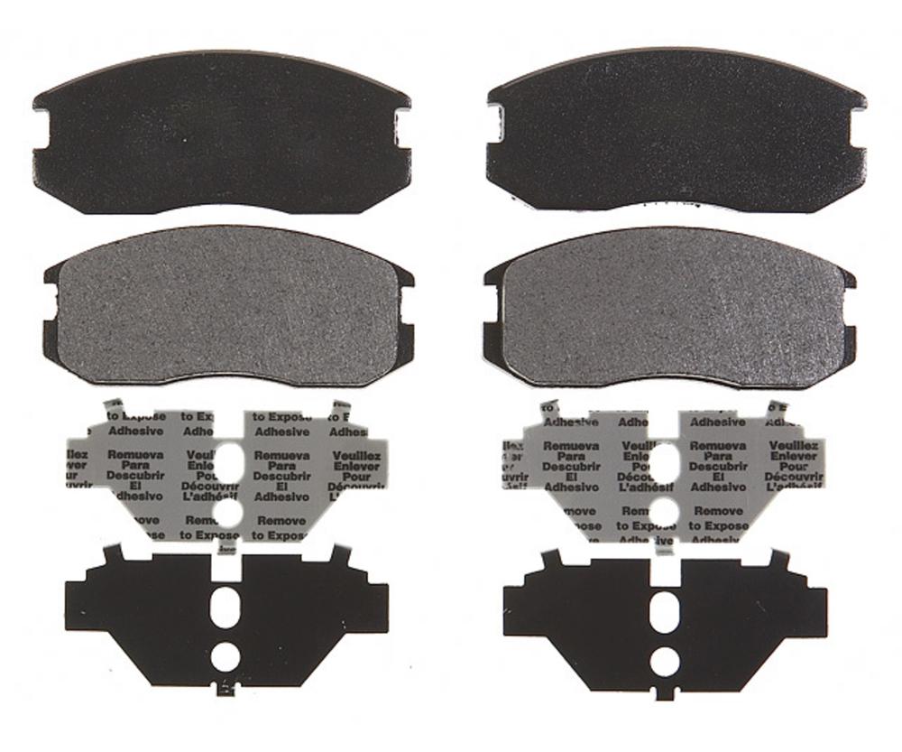 RAYBESTOS - PG Plus Metallic Disc Brake Pad (Front) - RAY PGD535M